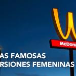 Marcas famosas en versiones femeninas